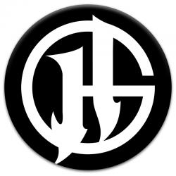 Placka HG symbol | bílý