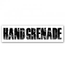 Samolepka nápis Hand...