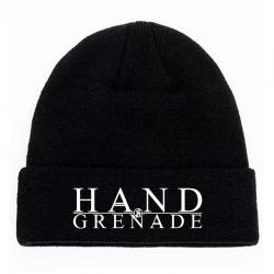 Zimní čepice - nápis HG